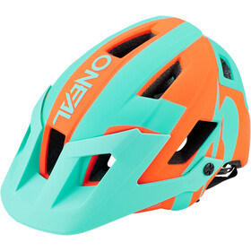 O'Neal Defender 2.0 Kask rowerowy, sliver orange/teal